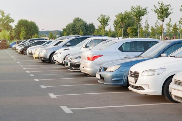 car parking lot